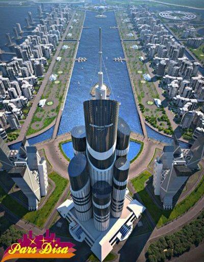 ساخت مرتفع ترین برج جهان در ساحل دریای خزر