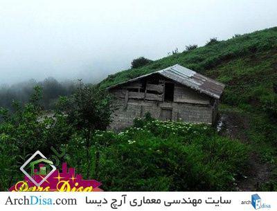نقشه اتوکد روستای چمنستان املش (گیلان)