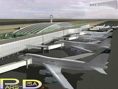 طراحی پلان فرودگاه