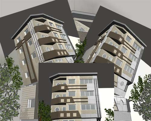 پروژه کامل مجتمع مسکونی