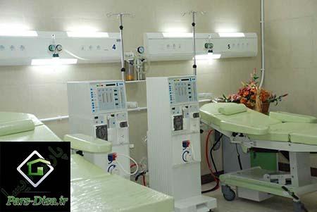 پروژه معماری بیمارستان ۶۴ تختخوابی