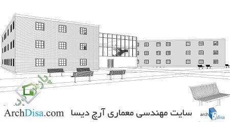 پروژه دانشکده معماری ۴
