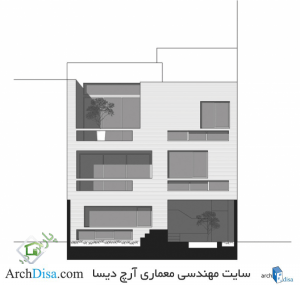 ۵۱cbb88ab3fc4be56b000037_house-in-isfahan-logical-process-in-architectural-design-office_south_elevation-528x502