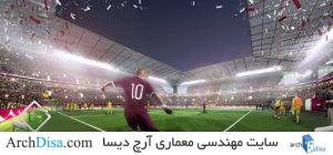 ۵۵۳۹۳ceee58ece9fb6000163_qatar-unveils-fifth-world-cup-venue-al-rayyan-stadium-by-pattern-architects_al-rayyan-stadium-match-530x248