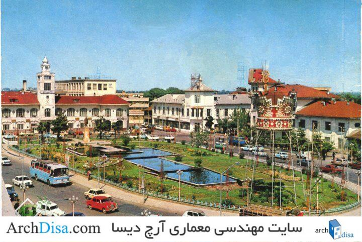 jakav.com-عکس-قدیمی-عمارت-شهرداری-رشت