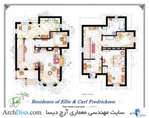۵۴۰۷۷۰dac07a8070e4000014_from-friends-to-frasier-13-famous-tv-shows-rendered-in-plan_floorplans_of_the_house_from_up_by_nikneuk-d5sg4kb-530x418