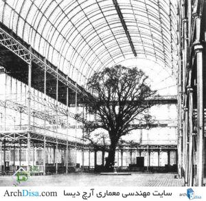 ۵۵۴۱۸fc3e58ece706c000342_the-architectural-lab-a-history-of-world-expos-_crystal_palace_great_exhibition_tree_1851-530x515