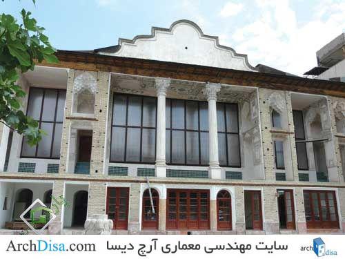 بررسی خانه های دوره قاجاریه تهران
