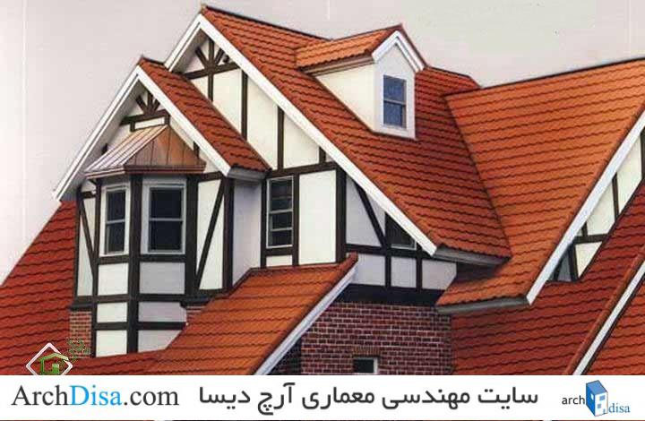 سقف شیروانی (چگونگی انتقال نیرو)