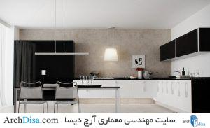 ۵۰-Black-And-White-Kitchen-Design-Ideas-with-Black-White-Kitchen-Diner