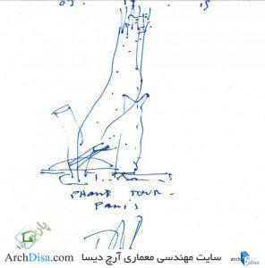 ۵۵۷۱d706e58ece3e7b0000da_17-napkin-sketches-by-famous-architects_thom-mayne-530x538