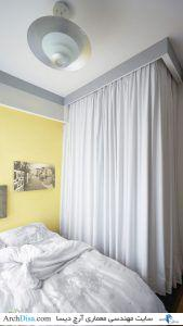 Tiny-apartment-Singapore-bedroom-curtains
