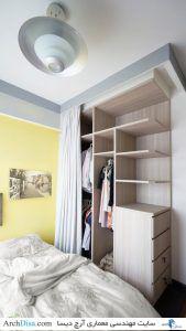 Tiny-apartment-Singapore-bedroom-storage-unit