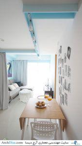 Tiny-apartment-Singapore-dining-area