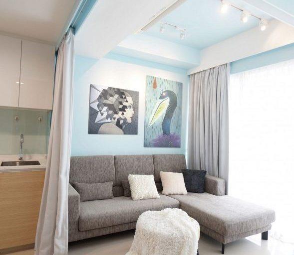 آپارتمان مسکونی کوچک در سنگاپور