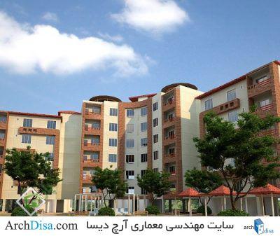 پروژه کامل مجتمع مسکونی ۴