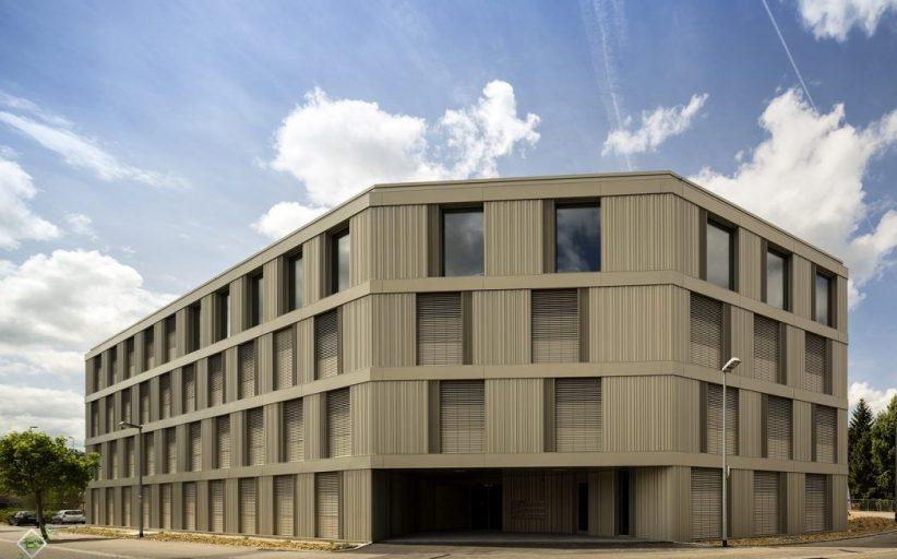 معماری پایدار ساختمان اداری Polyades (سوییس)