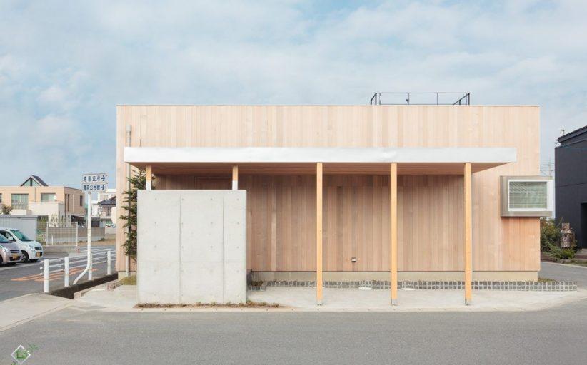 خانه چوبی مدرن (ژاپن)