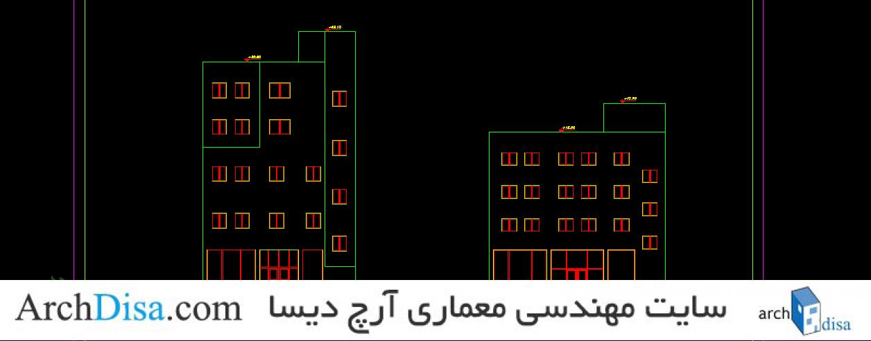 نمونه طراحی هتل
