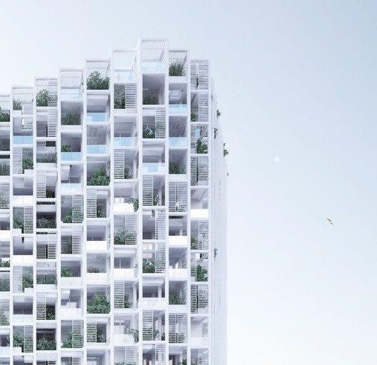 طراحی برج مسکونی مدولار (هند)