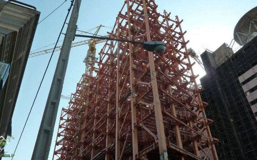 سازه اسکلت فلزی