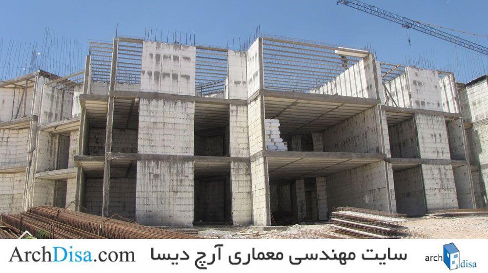 صنعت سازه های پیش ساخته در معماری