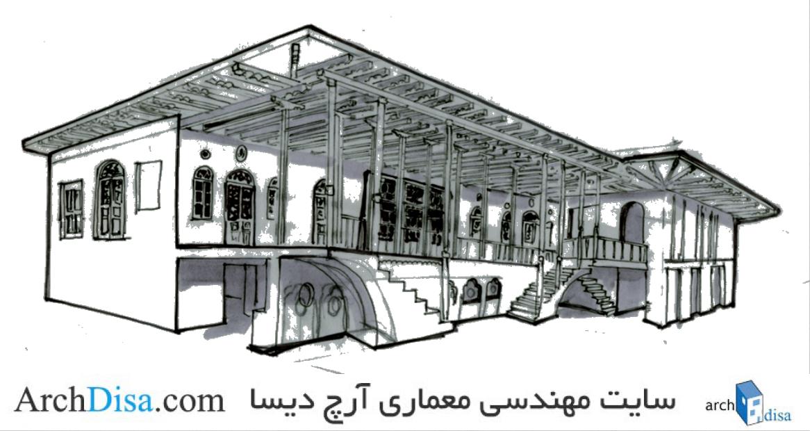 پروژه مرمت ابنیه تاریخی- خانه آوانسیان رشت