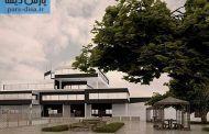 طراحی معماری پلان دانشکده معماری به همراه رندرهای سه بعدی