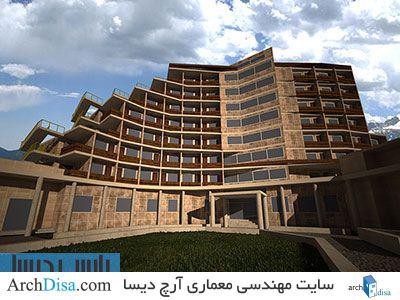 پلان کامل هتل