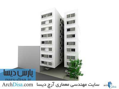 رساله طراحی خانه مسکونی