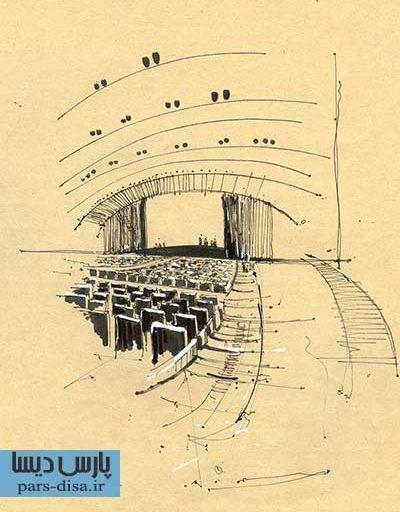 رساله طراحی مجموعه شورای شهر و تالار شهر