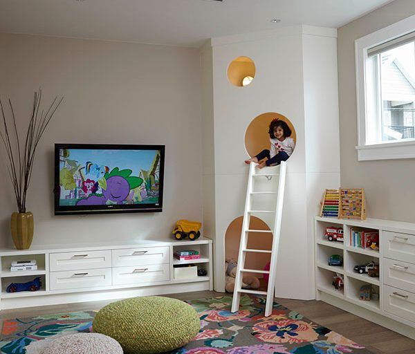 طرح های خلاقانه دکوراسیون اتاق کودک سری ۱