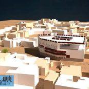 رساله ارشد باز زنده سازی ارگ حکومتی بوشهر به عنوان مجموعه گردشگری محله شنبدی با رویکرد بوم گرایی در معماری