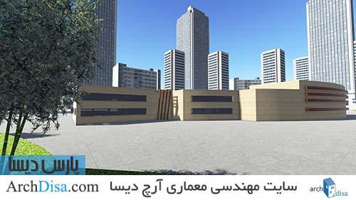 رساله ارشد معماری طراحی موزه خط با رویکرد معماری پایدار در اردبیل