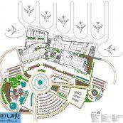 رساله ارشد معماری طراحی پایانه فرودگاه بین المللی با رویکرد تعامل معماری و سازه