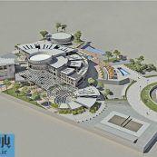 طراحی معماری دانشکده هنر و معماری شامل رساله ، پلان ، رندر و پوستر