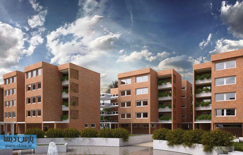 رساله ارشد معماری طراحی مجموعه مسکونی در سبزوار با توجه به مفهوم امروز واحد همسایگی