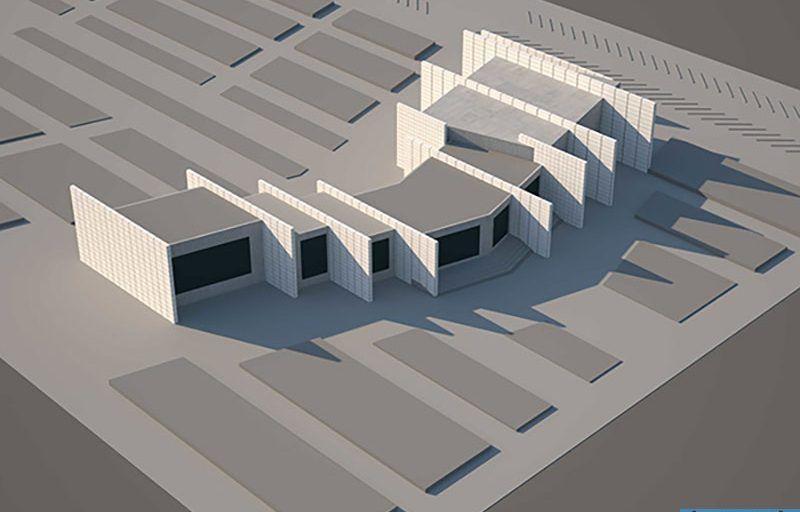 طراحی مرکز موسیقی ایرانی شامل رساله، پلان، ۳ds max، رندر و پوستر PSD