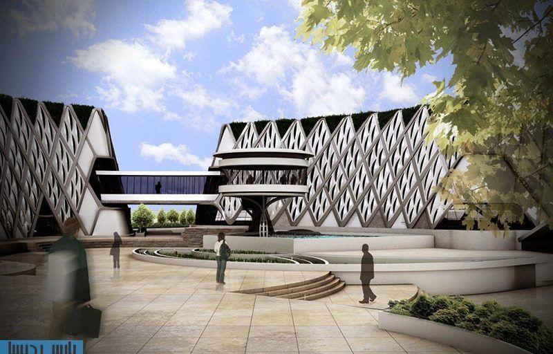 رساله ارشد معماری طراحی مرکز تحقیقات و توسعه بیونیک