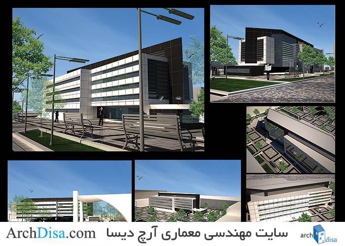 طراحی معماری پلان خوابگاه دانشجویی به همراه فایل ۳ds Max و رندرهای سه بعدی