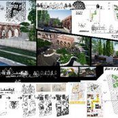 پروژه کامل منظر شهری ( سنگلج تهران ) شامل پلان ، فایل Revit و آنالیز