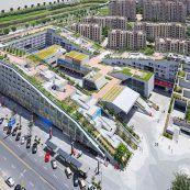 بررسی نمونه های طراحی مجتمع تجاری با بام سبز در چین