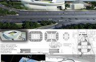پلان استادیوم فوتبال و سالن چند منظوره به همراه فایل سه بعدی Revit