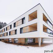 نمونه طراحی خانه سالمندان به همراه تصاویر با کیفیت و نقشه ها