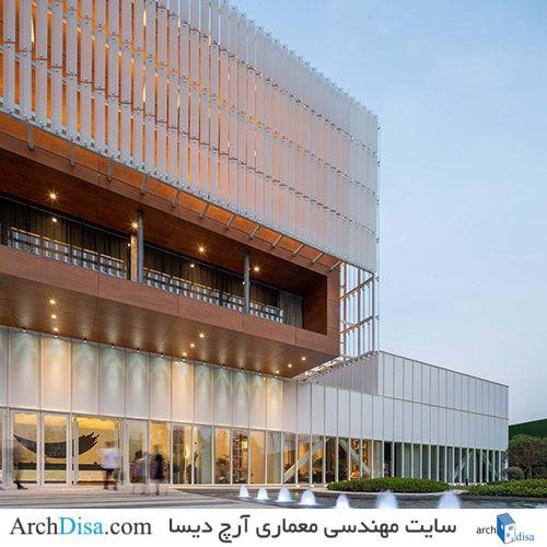 نمونه طراحی فرهنگسرا به همراه تصاویر با کیفیت داخلی و خارجی از زوایای مختلف