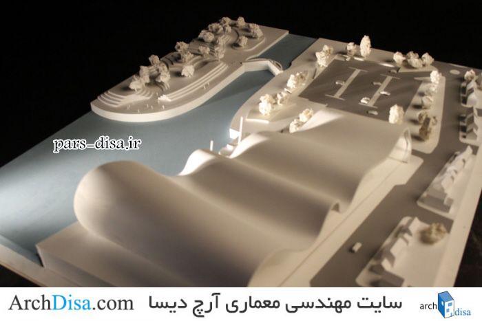 نمونه کانسپت موزه دریایی ، ماکت به همراه ۱۳۰ تصویر از روند ساخت ماکت