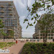 نمونه موردی مجتمع مسکونی ، به همراه تصاویر با کیفیت ، حجم و  پلان ها
