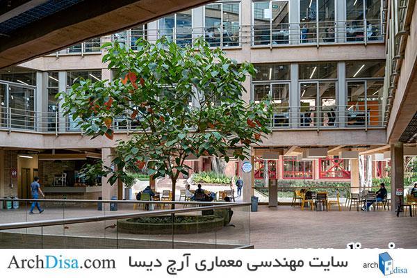 حیاط مرکزی دانشگاه